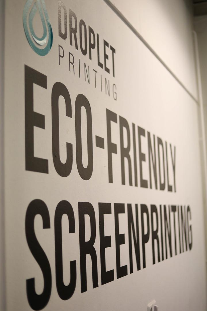 Droplet printing