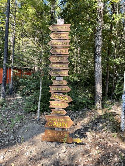 Camp Navarro camp signs.HEIC