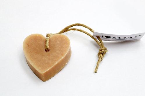 'I Love Soap' 5 x soap hearts 'Sweet Vanilla'