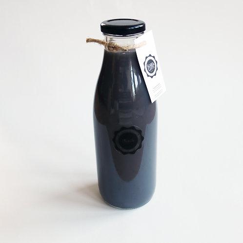 4 x bottles bath foam Black