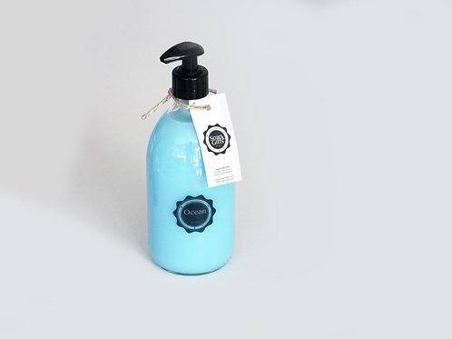 4 x bottles hand soap 'Ocean'