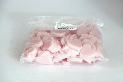 1kg bag of mini heart soaps 'Croatian Blossom'