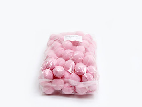 1 kg bag of mini bath bombs 'Strawberry'
