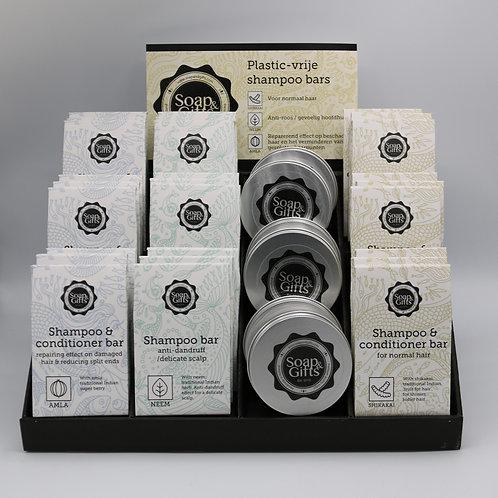 Cardboard display Shampoo Bars India