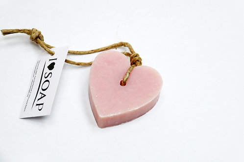 'I Love Soap' 5 x soap hearts 'Croatian Blossom'