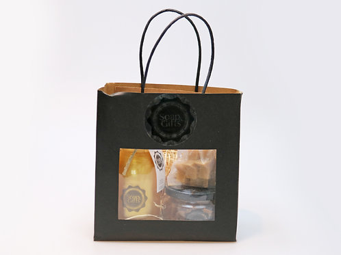 3 x gift bags de luxe 'Apple Pie'