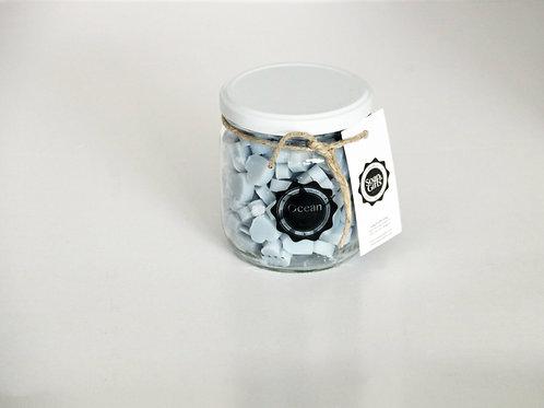 4 x pots of mini hand soaps 'Ocean'