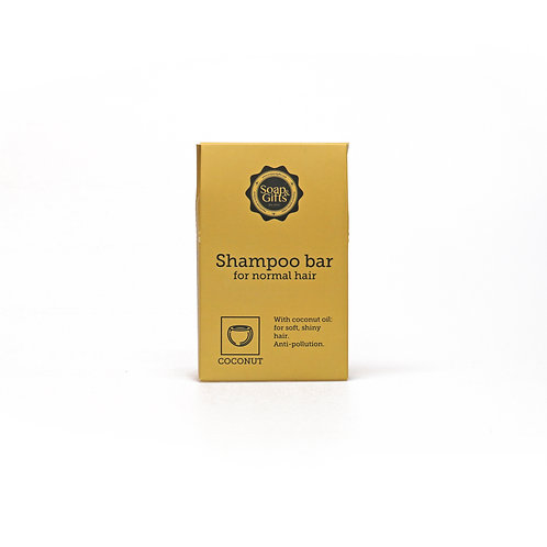 4 x 70g shampoo bars with Coconut