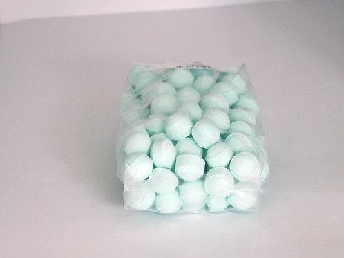 1 kg bag of mini bath bombs 'Melon'