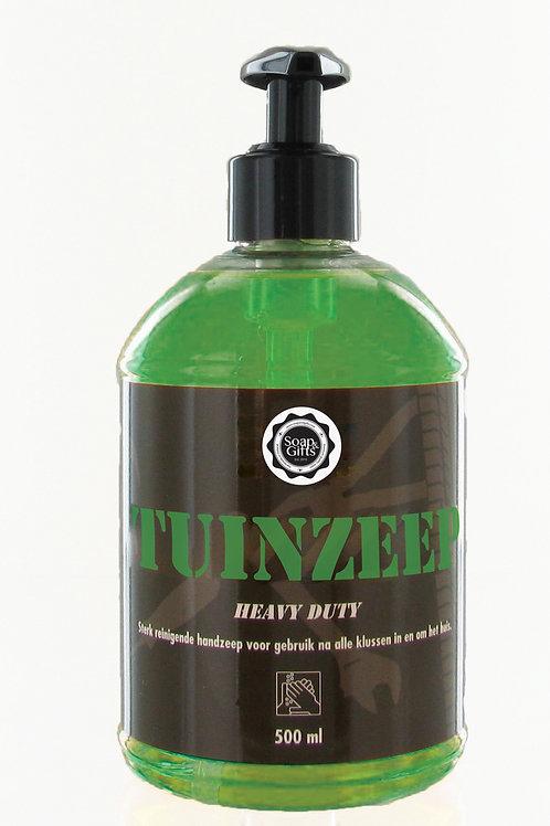 6 x pump bottles of heavy duty soap 'Tuin Zeep'