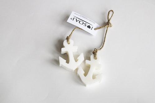 'I Love Soap' Ibiza 5 x 2 Anchor soaps 'Clean Cotton'