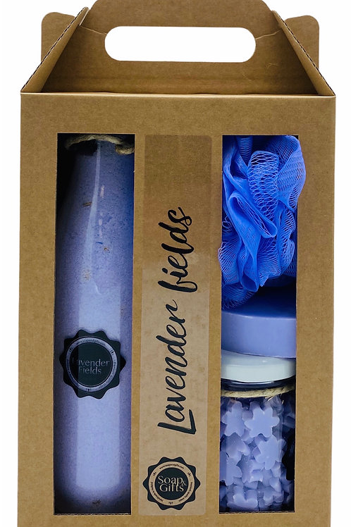 4 x gift sets maxi 'Lavender Fields'