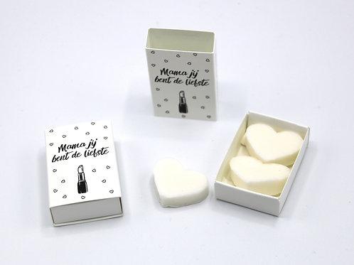 6 x Boxes Doosje Vol Zeep 'Mama Jij Bent De Liefste'
