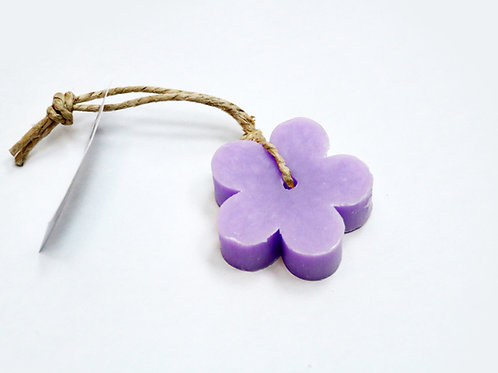 'I Love Soap' 5 x soap flowers 'Lavender Fields'