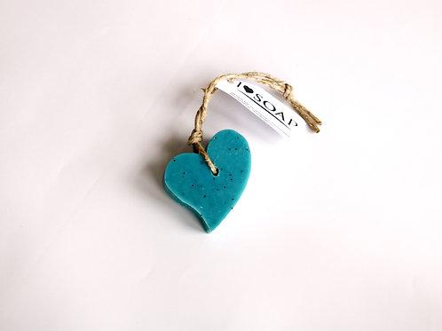'I Love Soap' Ibiza 5 x Heart soaps 'Italian Spring'