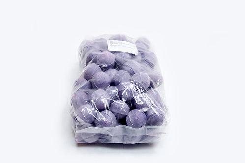 1 kg bag of mini bath bombs 'Passion Fruit'