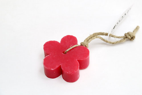 'I Love Soap' 5 x soap flowers 'Red Fruit'