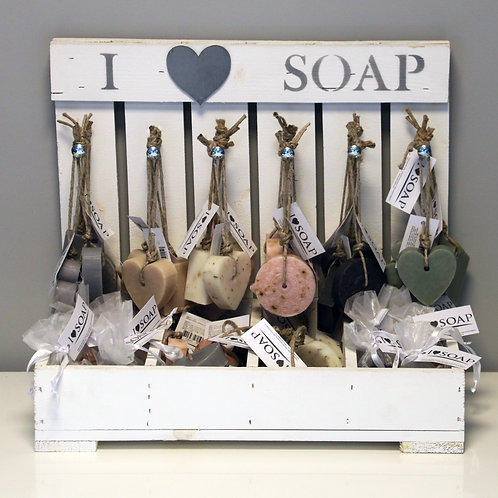 I Love Soap complete display