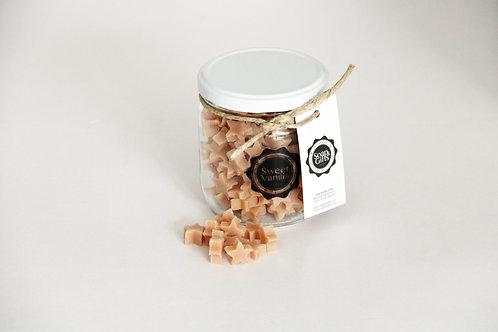 4 x pots of mini hand soaps 'Sweet Vanilla'