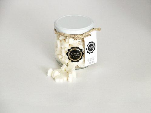 4 x pots of mini hand soaps 'Clean Cotton'