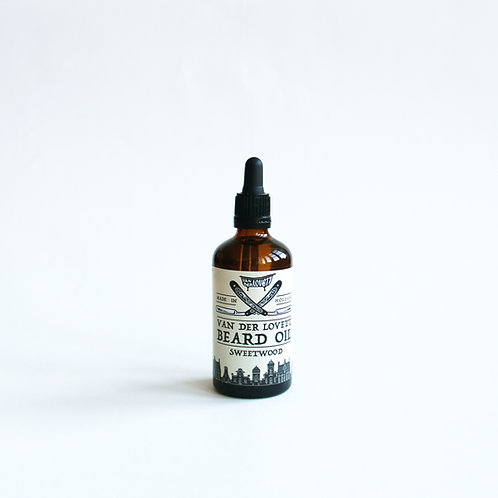 6 x Pipette Bottles Beard Oil 'Sweetwood'