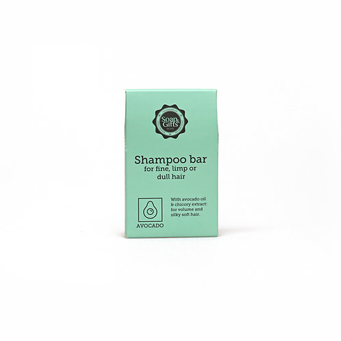 4 x 70g shampoo bars with Avocado