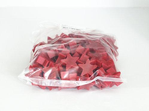 1kg bag of mini star soaps 'Red Cinnamon'