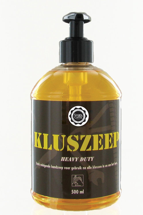 6 x pump bottles of heavy duty soap 'Klus Zeep'