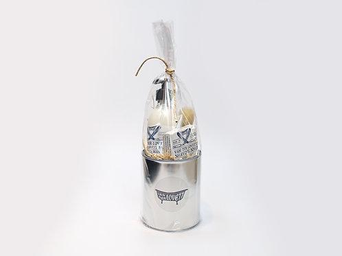 4 x Gift Buckets Small Van Der Lovett 'Dutch Blue'