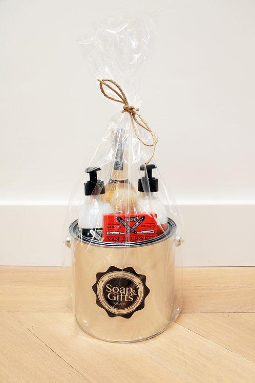 4 x Gift Buckets Van Der Lovett 'Royal Orange'