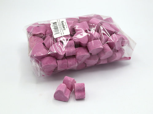 1 kg bag of mini bath bomb hearts 'Raspberry'
