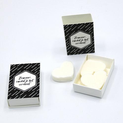 6 x Boxes Doosje Vol Zeep 'Zomaar, Omdat Je Het Verdient'