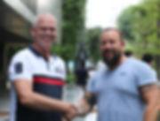 Boreas Martime Richard Leistra, Regional Manager Singapore and Harrie van der Steldt, CEO