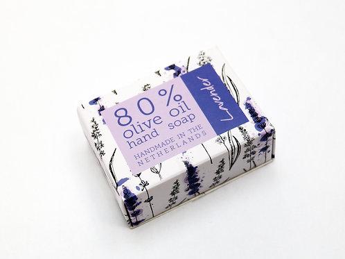 12 x boxed 80% Olive Oil Soaps 'Lavender'