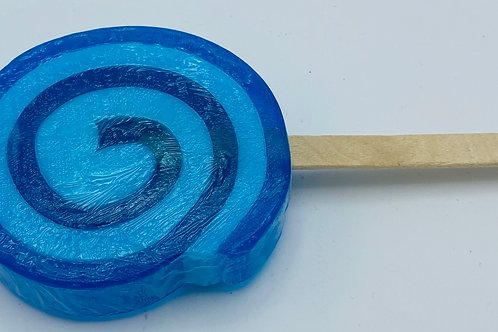 6 x Soap Lollipops Seakay (blue)
