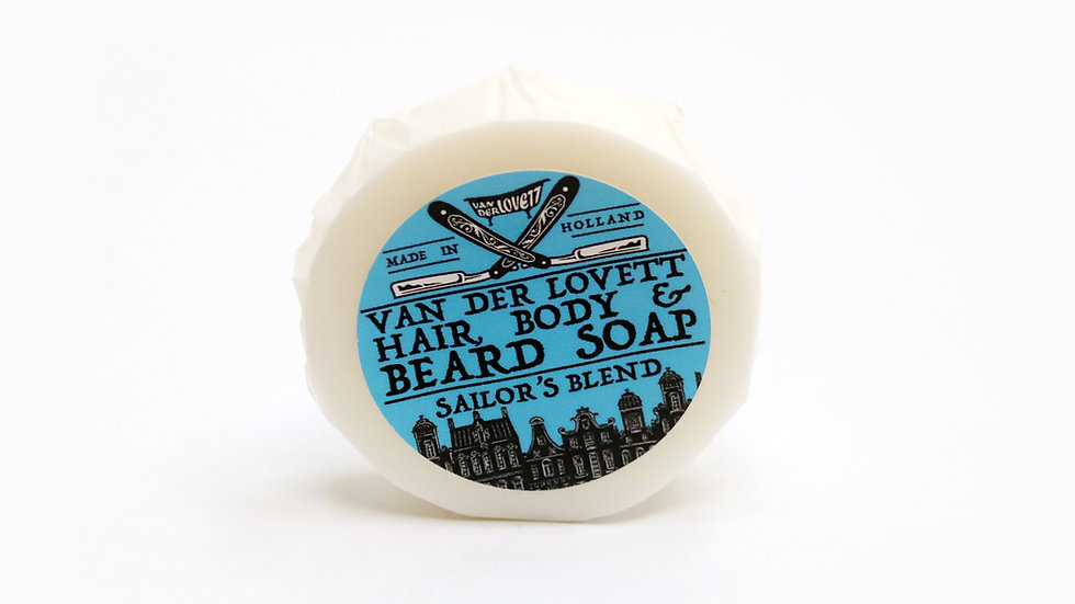 Hair, Body and Beard Shampoo Bar 'Sailor's Blend'