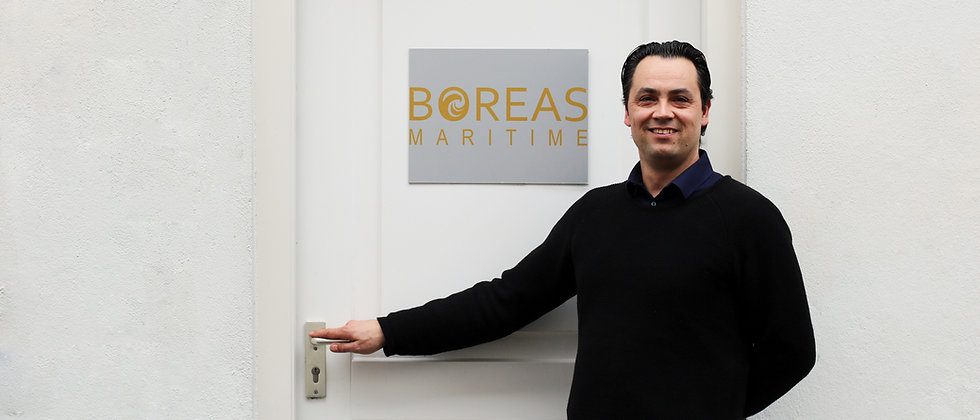Boreas Maritime Pascal Bounin Operations Director