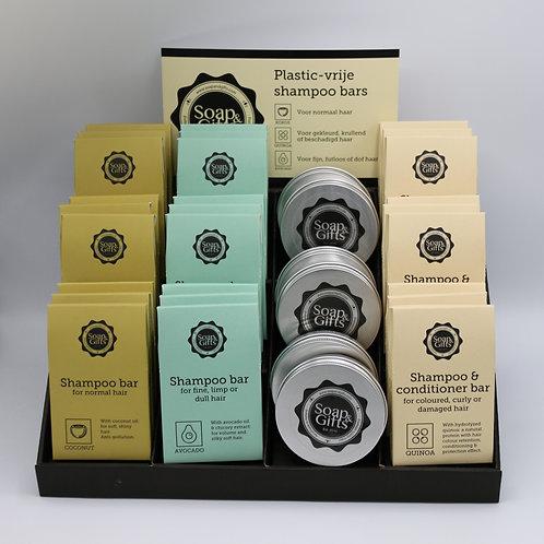 Cardboard display Shampoo Bars Original