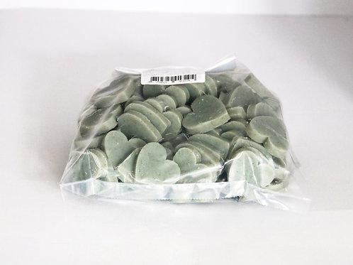 1kg bag of mini heart soaps 'Natural Olive'
