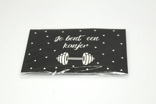 4 x Scent Sachet Greeting Cards 'Je Bent Een Kanjer'