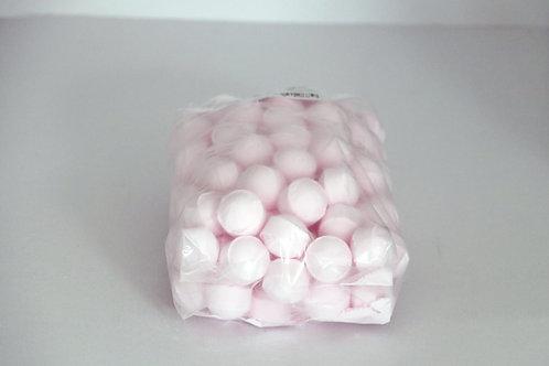 1 kg bag of mini bath bombs 'Wild Roses'