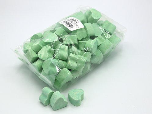 1 kg bag of mini bath bomb hearts 'Jasmine'