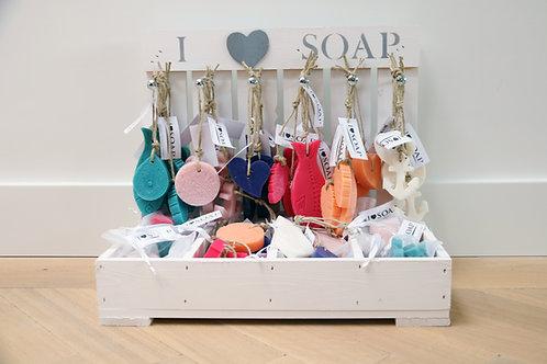 I Love Soap complete display Ibiza edition
