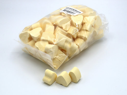1 kg bag of mini bath bomb hearts 'Golden Moments'