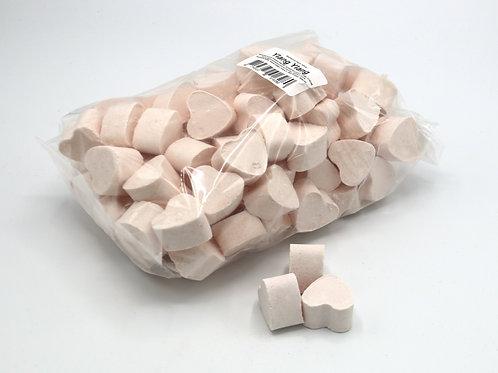 1 kg bag of mini bath bomb hearts 'Ylang Ylang'