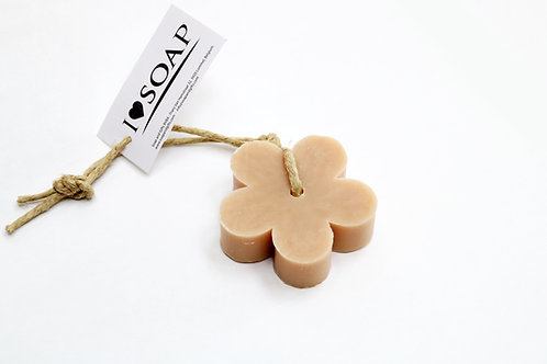 'I Love Soap' 5 x flower soaps 'Sweet Vanilla'
