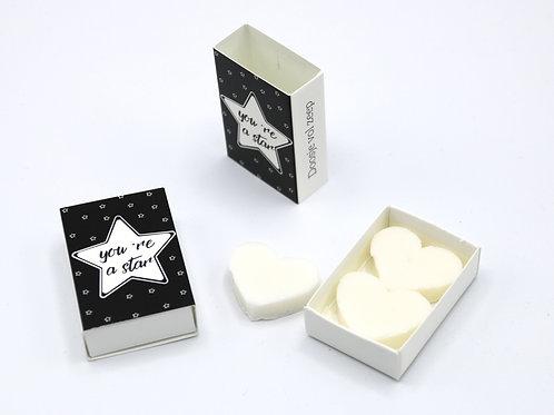 6 x Boxes Doosje Vol Zeep 'You're A Star'