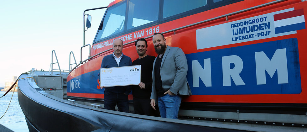 Boreas Maritime KNRM donation 171218.jpg