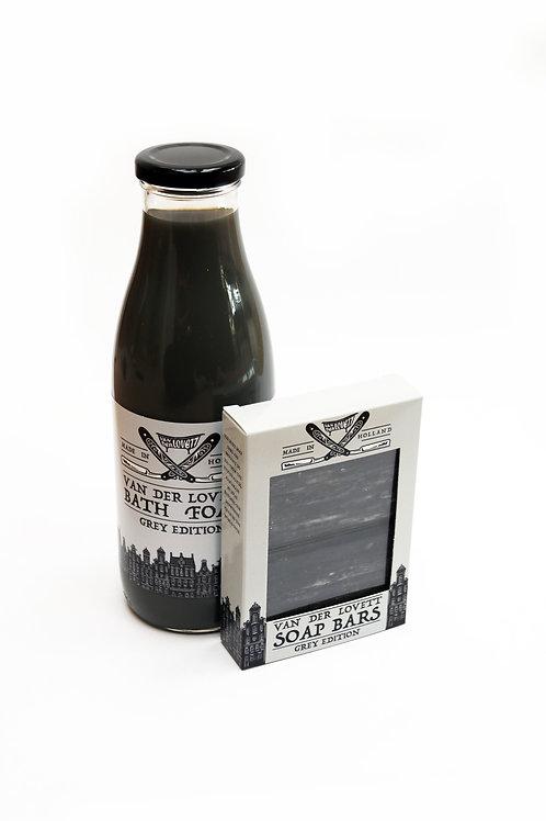 2 x gift bags Van Der Lovett 'Grey Edition'