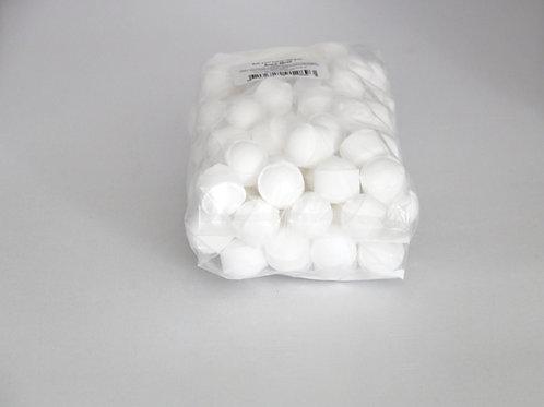 1 kg bag of mini bath bombs 'Snow Musk'